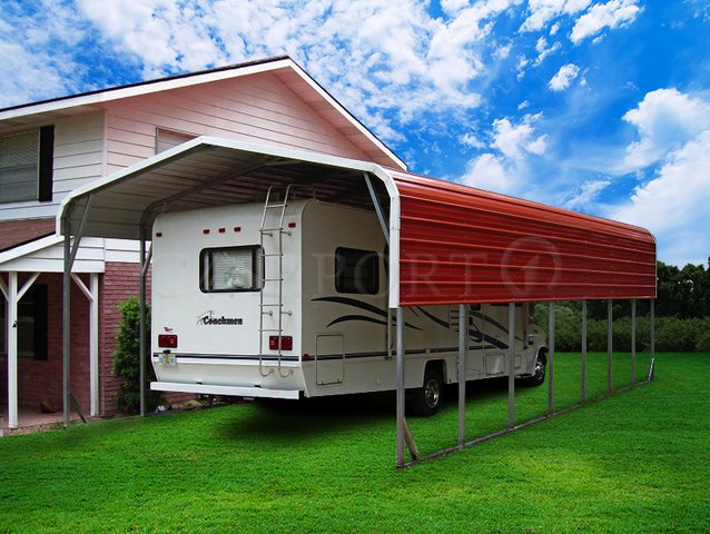 12x36 Regular Roof RV covers