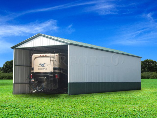 18x36 Vertical Roof RV Cover Image