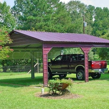☀️Shop our Summer Close Out ☀️ Limited Inventory! Our best sellers over the last season are running out, call for a free quote today or browse below. Deals available through August 24th.  {Double Car Carport, SKU: CPTVR-017, Starting at $3,960.00*, Deposi