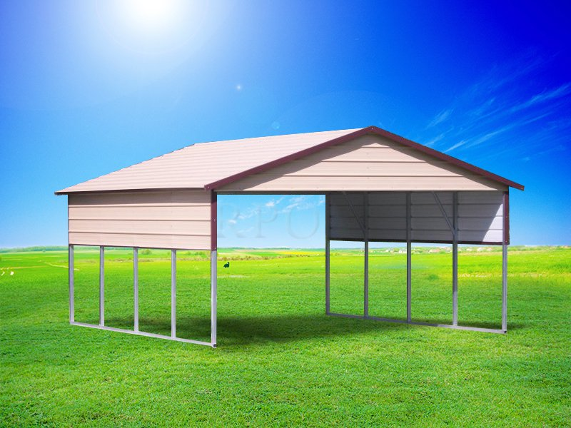 Carport1 offers free delivery and installation of metal buildings in Texas