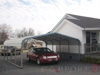 22x21 Regular Roof Double Car Carport Image
