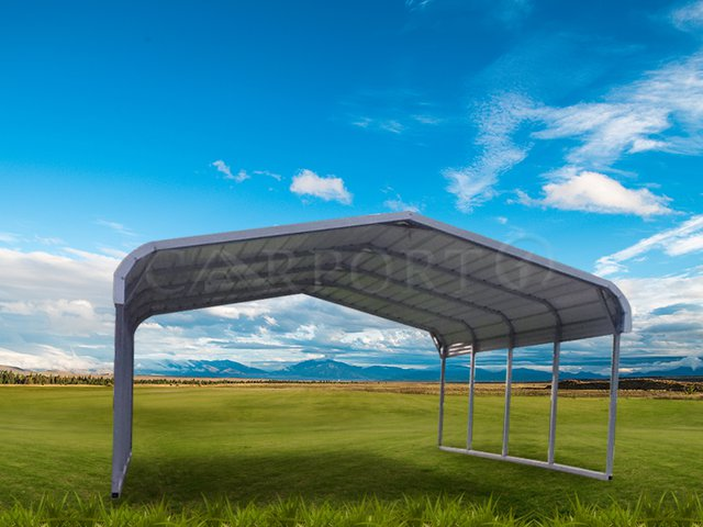 18x26 Regular Double Car Carport Image