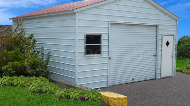 How To Enclose All Steel Carports
