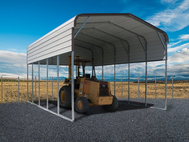 18x26 Regular Roof Regular Roof RV Cover Image