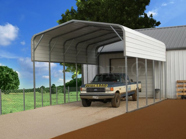 18x26 Regular Double Carport Image