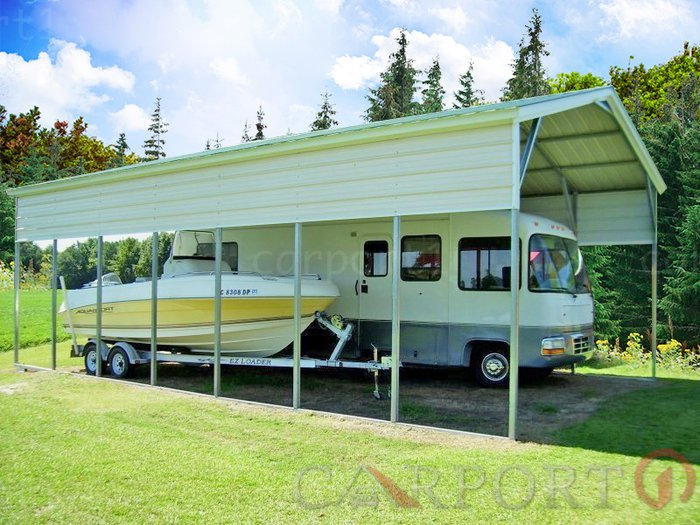 Metal RV Carports Buying and Installation Guide