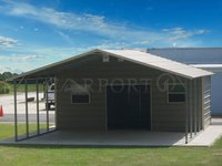 22x26 A-Frame Double Car Carport
