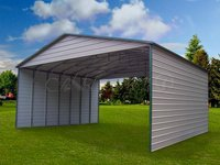 30×36 Boxed Eave Triple Wide Steel Carport
