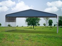 30x41 Regular Roof Triple Wide Carport