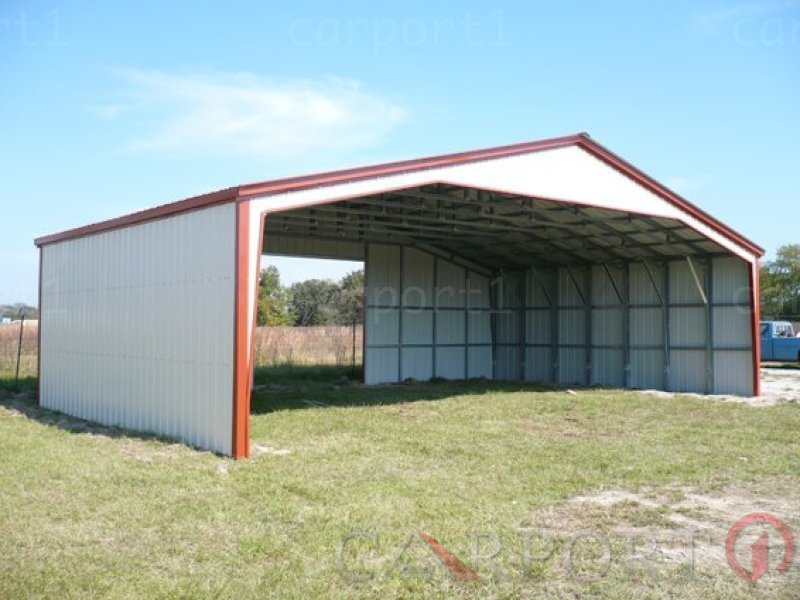 40-Wide Carports | Clear Span Metal Buildings | Clear Span