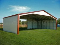 40x28 Vertical Roof Extra Wide Carport