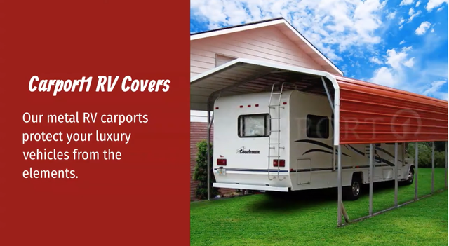 Protect Your RV with a Metal RV Cover