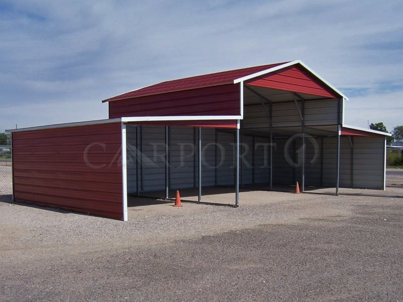 44x21 Carolina Equipment Storage Building