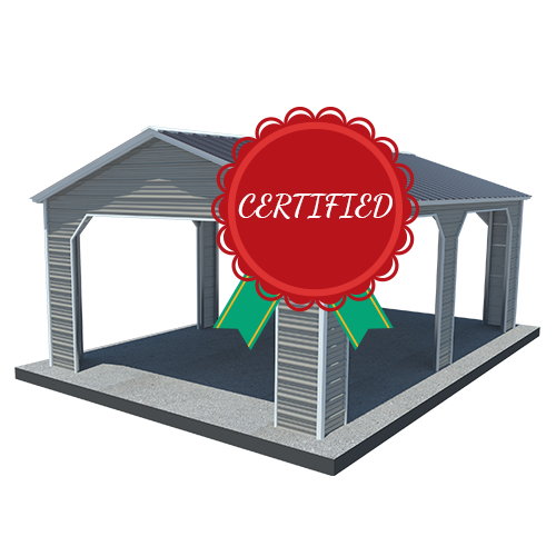 Certified Metal Carport