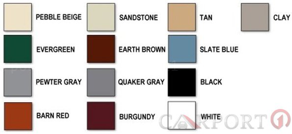 Available Colors