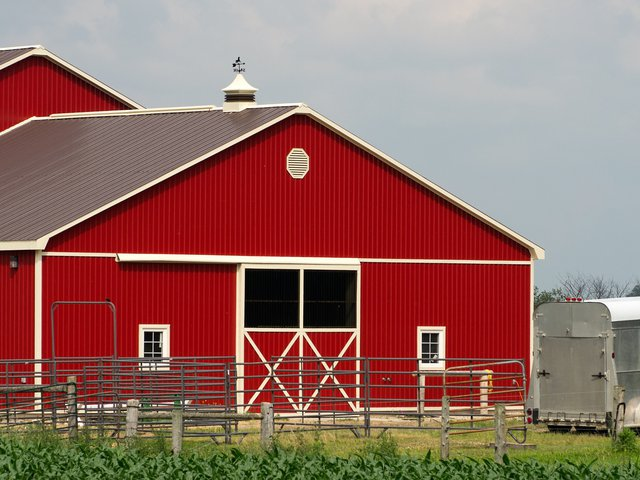 Industrial Commercial Metal Building Barn