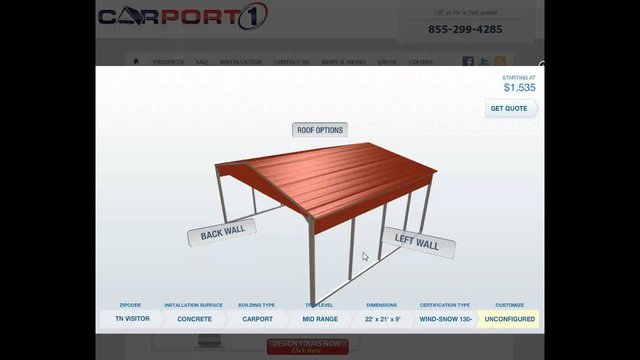 how to build carport