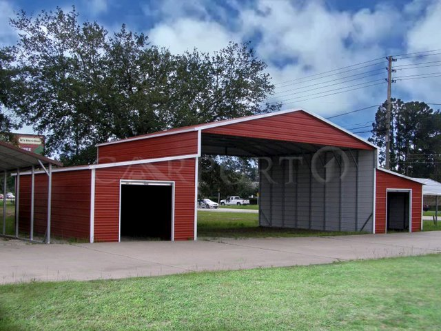 52x41 Steel Storage Building Image