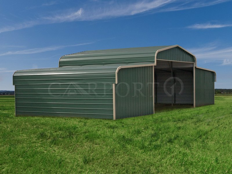44x21 Metal Seneca Barn