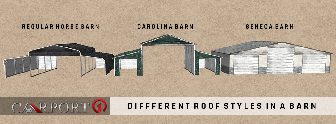 Metal Barn Roof Style Options