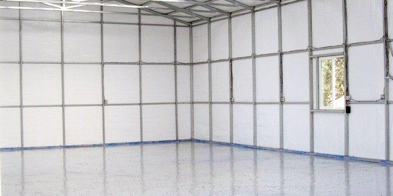 metal carport wall insulation