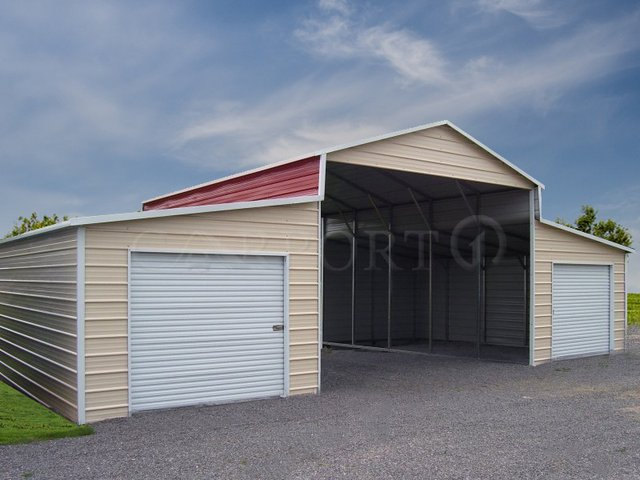 42x31 Storage Barn Building Image