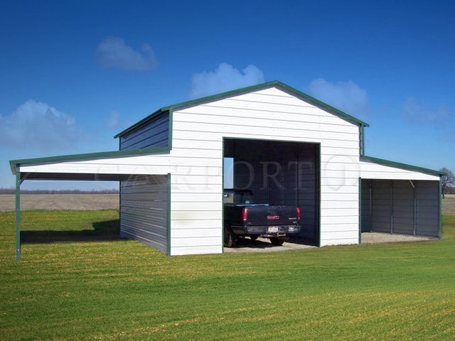 42x26 Metal Storage Building Image