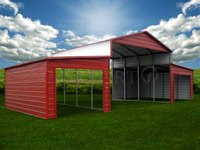 44x21 Equipment Storage Barn