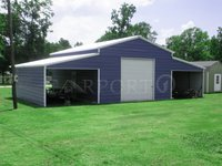 44x26 Carolina Metal Storage Building