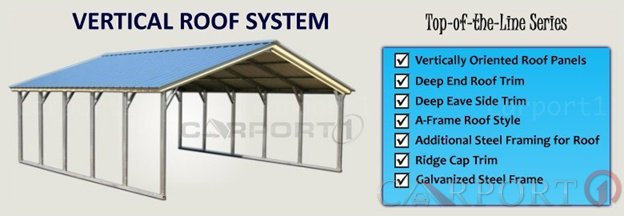 Vertical Roof System